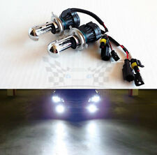 H4 9003 6000K Crystal White AC 35W Bi-Xenon H/L HID Replacement Bulbs Dual Beam