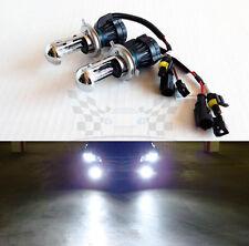 H4 9003 6000K Crystal White AC 35W Bi-Xenon H/L HID Replacement Bulbs Dual Beam