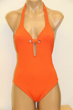 NWT ANK Mirla Sabino Swinwear One 1 Piece Swimsuit Sz XL Orange $177