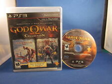Sony Playstation PS3 God of War Collection Complete