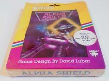Atari XL: Alpha Shield - Sirius Software 1983