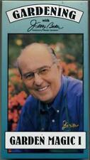 Garden Magic Gardening Jerry Baker VHS Lawn Feeding Weeding Seeding Pest Control