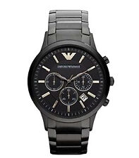 Emporio Armani AR2453 Mens Black Chronograph Watch