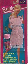 Barbie Pajamas Sleep 'n Fun Fashions in Circa 1994