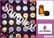 Doterra Sample Vial 2ml or 1ml  Essential Oils Aromatherapy **Pick Your Oil**