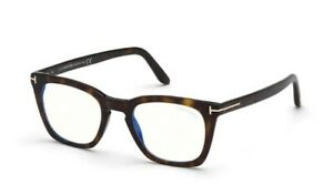 Tom Ford spectacle frame TF5736-B in col 052 dark havana with case 48mm