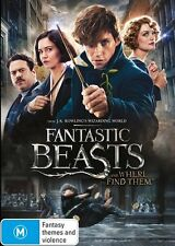 Fantastic Beasts (DVD, 2017)
