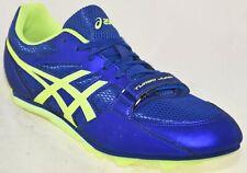 Asics Men's Track Shoes Blue Green, 10M