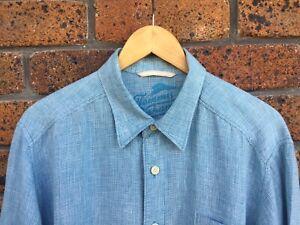 Tommy Bahama Mens Linen Shirt L/XL