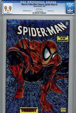 Spider-Man 1990 1 CGC 9.9 Chromium Amazing Stan Lee Todd McFarlane Venom 300