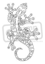 A7 'Gecko' Unmounted Rubber Stamp (SP00001734)