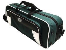 Gator Spirit Series Lightweight Trumpet Case White & Green   GL-TRUMPET-WG