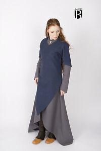 Medieval Tunic Women Elf Warrior /Larp - Blue By Burgschneider