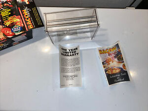 Bacon Magic Microwave Bacon Cooker As Seen On TV Splatter Proof Shield Sealed