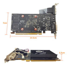 Pro GPU HD6450 2GB DDR3 HDMI Graphic Video Graphics Card PCI Express for Gaming