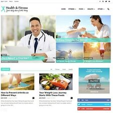 Health Products Store Magazine-Established Affiliate Website Business