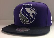 Sacramento Kings Mitchell & Ness Snapback Hat Cap XL Logo Big Logo