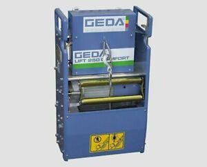 Bauaufzug Leiterlift GEDA Comfort Lift 250 Ersatzwinde