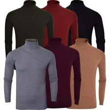 Brave Soul Cotton Polo Neck Jumpers & Cardigans for Men