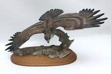 Giuseppe Armani Osprey Eagle In Flight Soaring Figurine Sculpture 16�