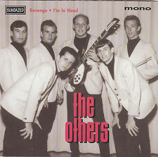 "THE OTHERS - revenge / i'm in need 7"" red vinyl"
