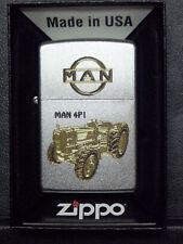Zippo Sturmfeuerzeug MAN Trecker 4P1 High End Gravur