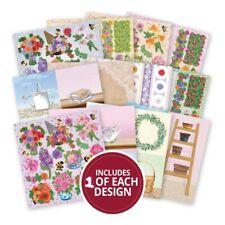 """6/"""" X 6/"""" 12 hoja bastante pétalos catador Pack Álbum de recortes elaboración de Tarjetas artesanal de papel"""