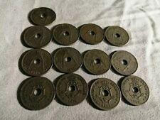 Belgique lot de 13 pièces de 10 centimes différentes : 1902, 1904, 1905, rare 19