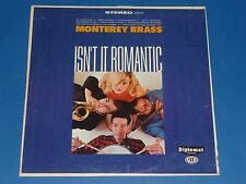 "MONTEREY BRASS - ""ISN'T IT ROMANTIC"" - RECORD ALBUM LP 33 RPM - DIPLOMAT"