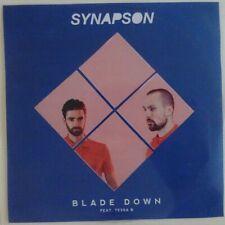 SYNAPSON : BLADE DOWN feat. TESSA B ♦ CD SINGLE PROMO ♦