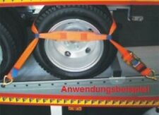 4 Stück Spanngurt Zurrgurt für Pkw Auto Transport zur Radsicherung (1)
