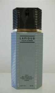 LAPIDUS POUR HOMME 100ml - TED LAPIDUS - EDT VAPORISATEUR de 100ml NEUF