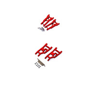 Traxxas Slash 2wd STRC Red Aluminum A-Arms Arm Set Front & Rear with Hinge Pins