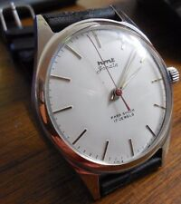 Genuine Vintage HMT Janata White Dial Men's Watch/Brand New/Mechanical/Handwound