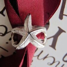STELLA MARINA SIRENA Anello con simbolo infinito in Argento Sterling Anello Aperto 925 TIMBRO