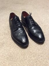 CROCKETT AND JONES -SWANSEA Black BROGUE Size UK 9.5