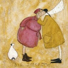 Sam Toft - Big Smackeroo! - 30 x 30cm Canvas Print Wall Art WDC45158