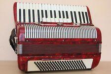 Settimio Soprani 120 Bass LMMM Musette Accordion Fisarmonica + Case + Vibrato