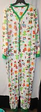 NEW WOMENS PLUS SIZE 3X CHRISTMAS HOLIDAY DROPSEAT UNION SUIT 1PC PAJAMAS PAJAMA