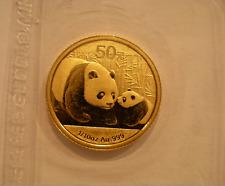 Cina 2011 Oro 3ml Panda 50 Yuan Originale Mint Sigillato Bu