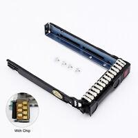 "2.5"" SAS SATA Drive Tray Caddy For HP ML350p ML370 DL360e DL380e Gen9 Gen8 G8"