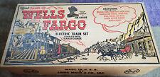 Official Tales of Wells Fargo Electric Train Set 1959 w/transformer