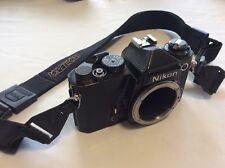 Vintage Nikon FE 35mm SLR Film Camera Works Great OLD FE COLLECTIBLE CAMERA