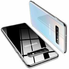 Samsung Galaxy S10 Plus Hülle Schutzhülle Durchsichtig Slim Fit Case Transparent