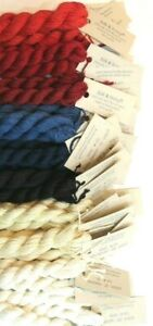 Silk & Ivory 50% silk / 50% Wool Needlepoint Thread, Fiber - Brown Paper Pkg