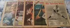 1968/70 Five Complete Issues The Sporting News Lions Tigers Twins Bruins & UCLA