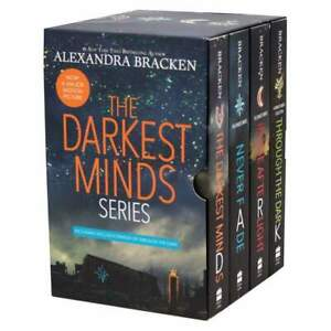 New The Darkest Minds Series 4 Books by Alexandra Bracken Box Gift Set