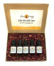 Luxury LIFE OIL Gift Set - Essential Oils Gift Pack Present Xmas