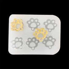 1PCS Dog Footprints Cat Claws Mould DIY Resin Pendant Jewellery Making Mold FB