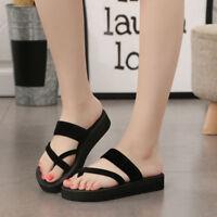 Womens Summer Flip Flops Casual Slippers Flat Sandals Beach Open Toe Shoes